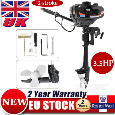3.5HP 2 Stroke Outboard Motor Inflatable Boat Engine CDI System Water Cooling UK