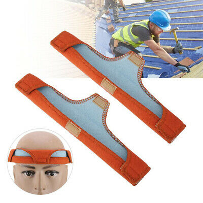 2pcs Hard Hat Sweat Band Welding Safety Helmet Air Cushioned Comfort Pad