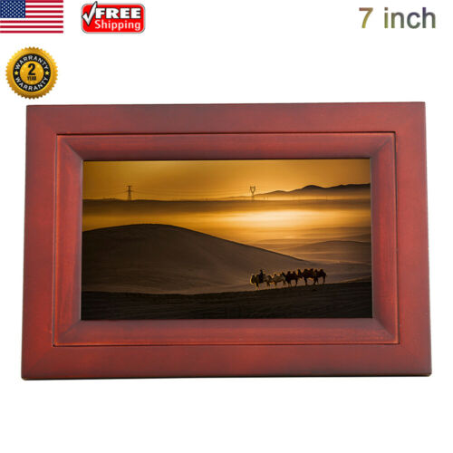"""7"""" LCD Digital Photo Frame 8GB WiFi Album Picture Music Play"""