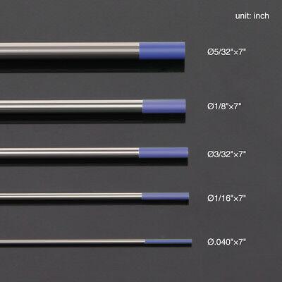 10-pk Tig Welding Tungsten Electrode 2 Lanthanated Blue Wl20 .040-532x7