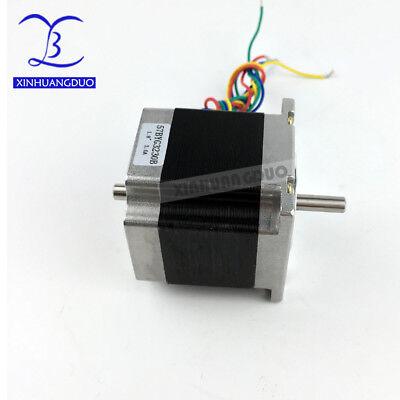 Cnc Nema23 Stepper Motor Dual Shaft 57x56mm 3a 1.26n.m 180oz-in For Cnc Machine