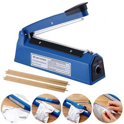 12 New Manual Impulse Heat Sealer Poly Bag Machine Shrink Wrap Free Element Us