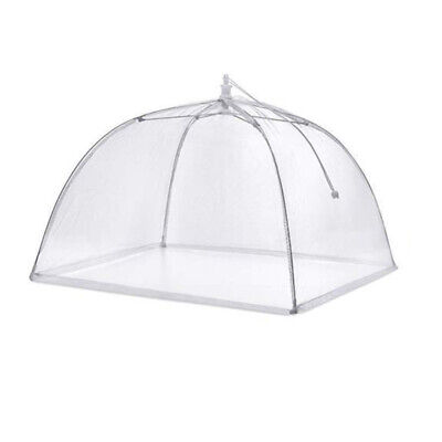 Picnic Food Covers (Large Pop-up Mesh Screen Food Cover Umbrella Tents Outdoor Picnic Food Covers)