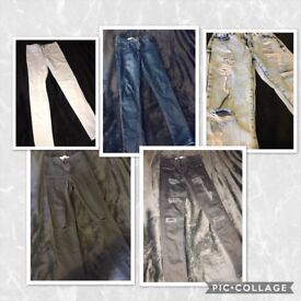 Jeans/Leggings bundle (size small)