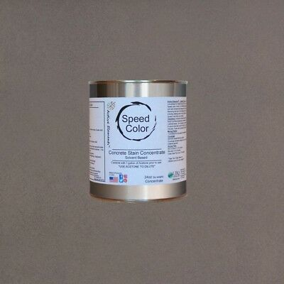 Fast Drying Concrete Paint 24oz Concentrate Yields 1 Gallon Taupe Color