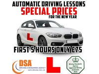 AUTOMATIC DRIVING LESSONS in a BRAND NEW 2017 BMW 1 SERIES - NEW YEAR OFFERS