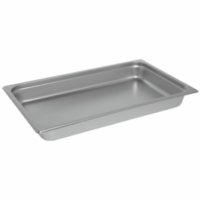 Hubert Steam Table Pan Full Size 24 Gauge Stainless Steel - 2 12 D