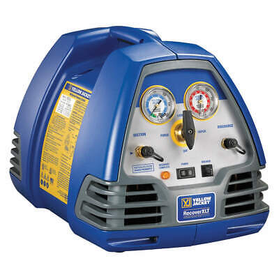 Yellow Jacket 95762 Refrigerant Recovery Machine12 Hp115v