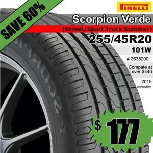 Pirelli Scorpion Verde 255/45R20