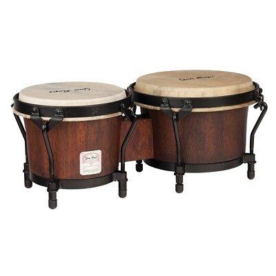 "Gon Bops MBBG Mariano Series Bongos Hand Drums Durian Wood, Natural - 7 / 8.5"""