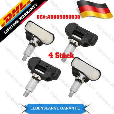 4X Reifendrucksensoren RDKS A0009050030 für Mercedes-Benz W176 433MH-A0009050030