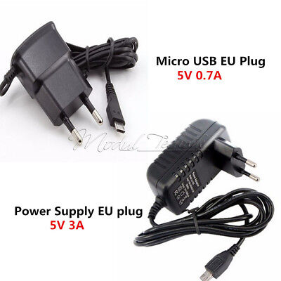 EU Plug 5V 0.7A/3A Converter Adapter MICRO USB Power Supply Charger M Usb Power Plug