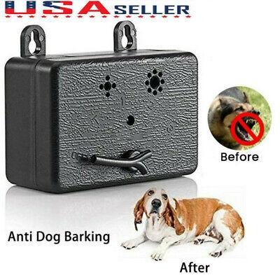 Anti Barking Device Outdoor Ultrasonic Pet Dog Bark Control Sonic Silencer Tools