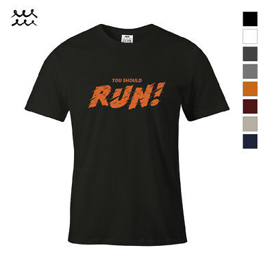 RUN ! HALLOWEEN FUNNY PRINT T SHIRT GRAPHIC SHIRTS HOLIDAY IDEA DESIGN TEE GIFT ](Halloween T Shirts Ideas)