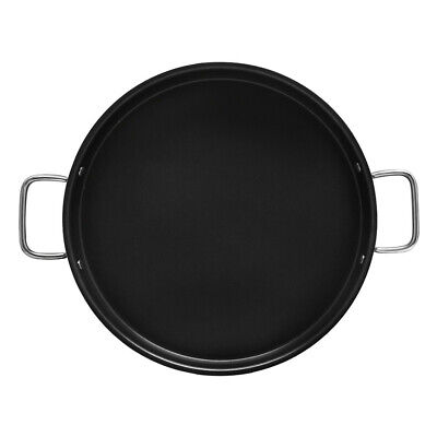 Aluminum 15 x 1-1/2 Non-Stick Spanish Paella Pan Grill Comal Griddle Tray Cook