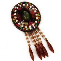 Patch Cucitura Borsa Decorazione Inca Kuchi Afgana Banjara Tribale Perline Af29 -  - ebay.it