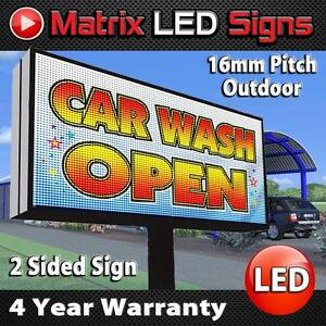 Outdoor Double Sided Sign Ebay