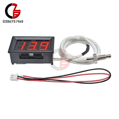 Xh-b310 Red Digital Diaplay Thermometer K-type M6 Thermocouple Tester 30c-800c