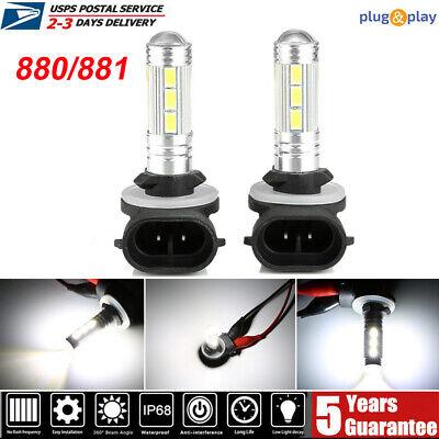 1955W 293250LM  880 881 H27 6000K Bulb Cree LED Fog Lamp Foglight Conversion Kit