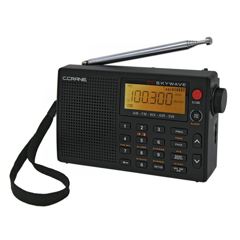 C Crane CC Skywave AM, FM, Shortwave, Weather and Airband Po