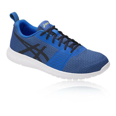 Asics Hombre Kanmei Correr Zapatos Zapatillas Azul Deporte Transpirable