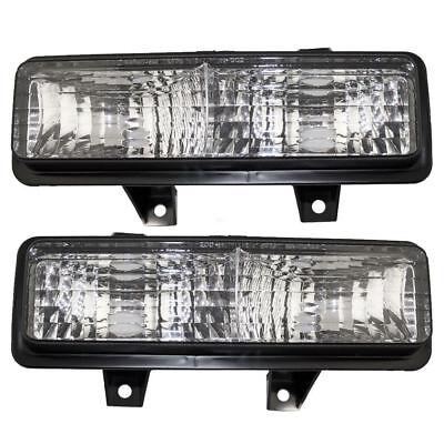 New Depo Front Turn Signal Light Set For 89-91 Chevrolet GMC Trucks Suburban Chevy Suburban Turn Signal
