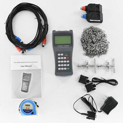 Digital Ultrasonic Liquid Flowmeter Handheld Flow Meter Tds-100h Dn50-700mm M2