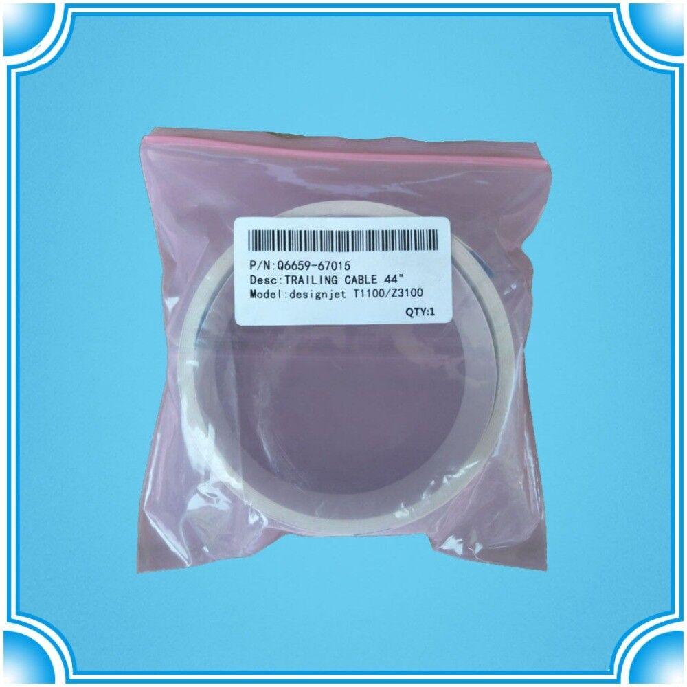 """2pcs Q5669-60681 Trailing Cable 24/"""" HP Designjet T1100 T610 Z2100 Z3100 Z3200 PS"""
