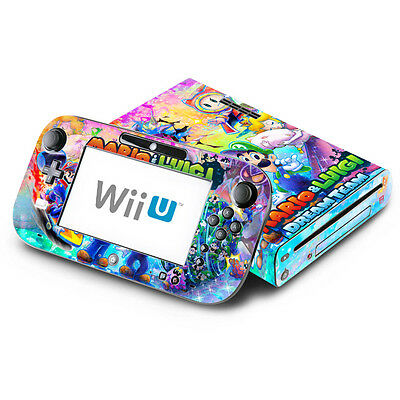 - Mario & Luigi Dream Team - Nintendo Wii U Skin Decal Sticker Vinyl Wrap