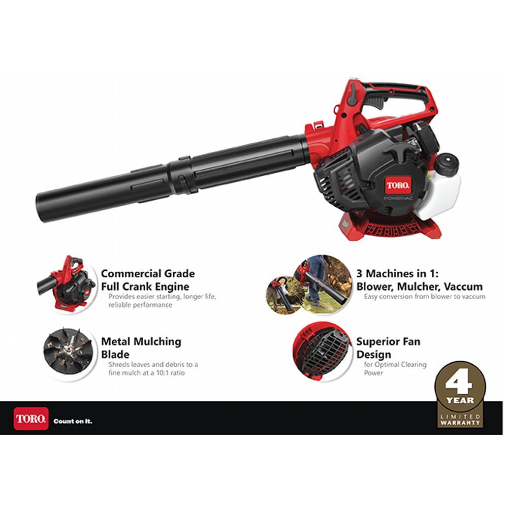 150 MPH 460 CFM 26cc 2-Cycle Handheld Gas Handheld Leaf Blow