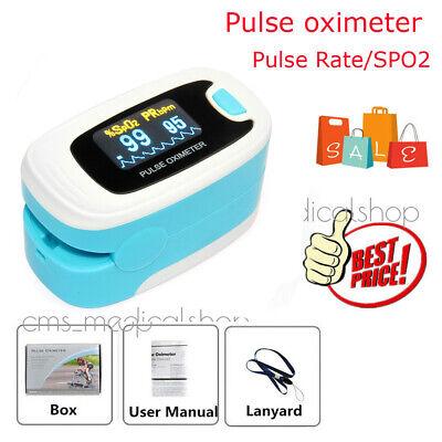 Fda Oled Oximeter Pulse Finger Heart Monitor Blood Oxygen Spo2 Waveform