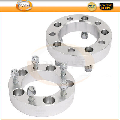 "2Pc 1.5"" 5x5.5 5x139.7 Wheel Spacers 1/2"" Studs For 1994-2001 Dodge Ram 1500"