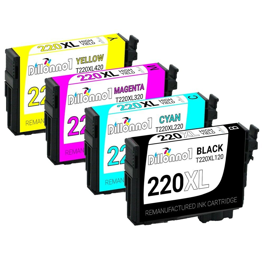 220 XL T220XL Remanufactured Epson Ink Cartridges For