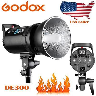 Godox DE300 300W Professional Studio Strobe Flash Lamp GN58 for Photography K1P7