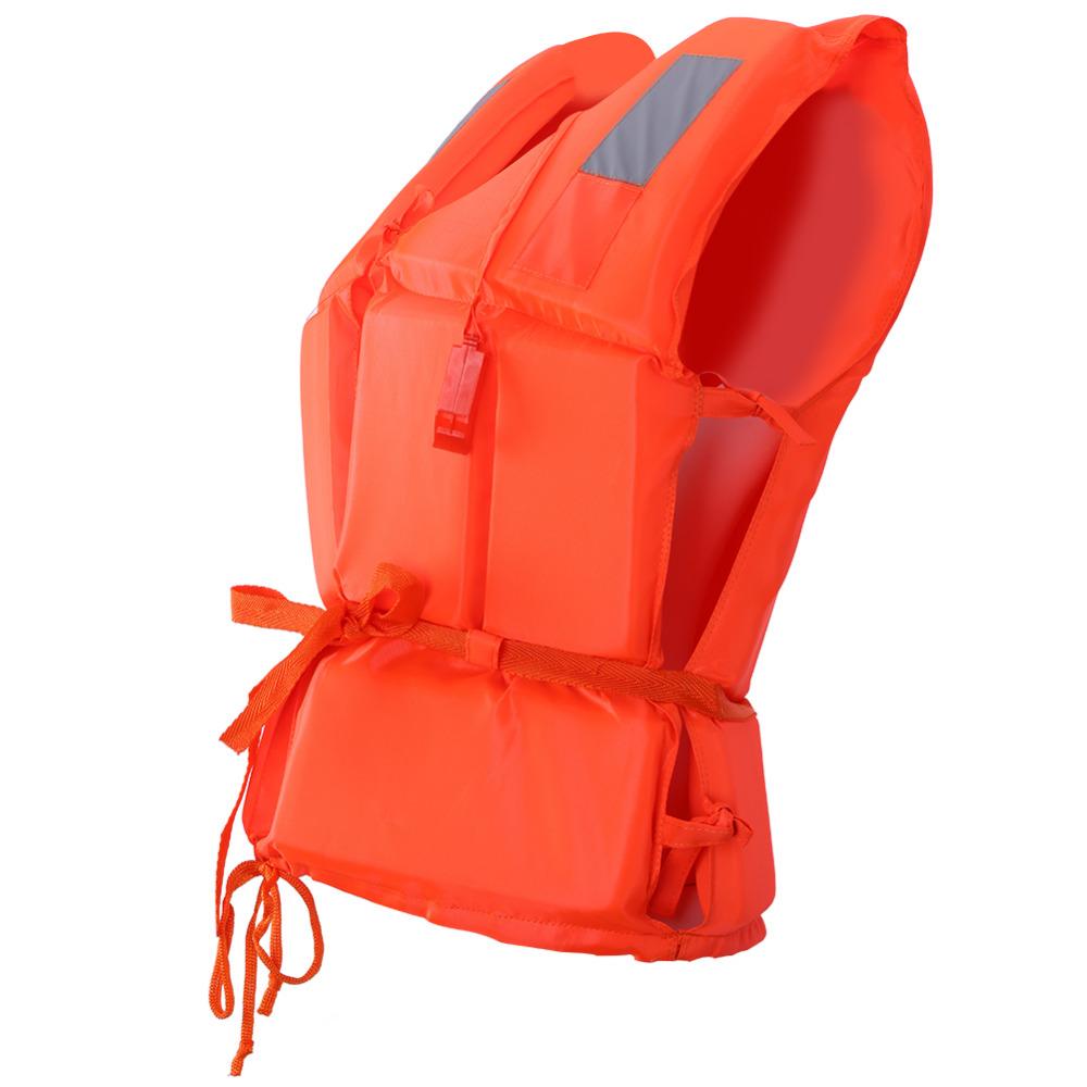 63a53c7c2c8 Adult Vest Life Jacket Kids Swimming Boating Safe Ski Security ...