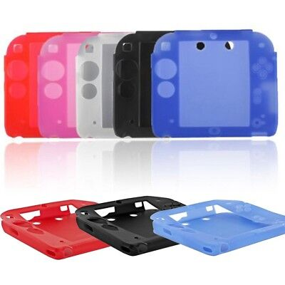 Protective Soft Silicone Rubber Gel Case Cover Skin for Nintendo 2DS Best
