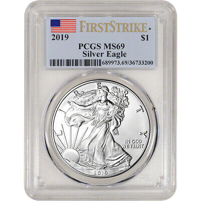 2019 American Silver Eagle - PCGS MS69 - First Strike