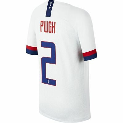 Nike USA 2019 Home Youth Soccer Jersey - Pugh 11