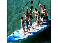 Mega sup paddle board for hire