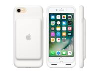 Iphone 7 smart battery case - color white