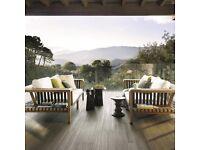 Monza Grey Wood Effect Porcelain Tile - 2 boxes (2.52m2)