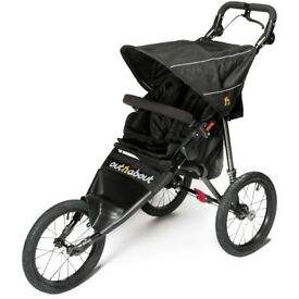 Out n About Nipper Sport Pushchair V4, Raven Black 2017 -used a handful of times! Great condition