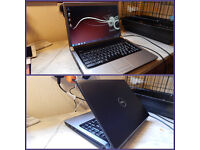 """Very smart, brill condition Dell Studio 15.4"""" HDMI laptop. New backlit keyboard. New battery."""