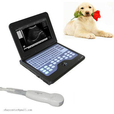 Digital Portable Veterinary Ultrasound Scanner Machine 3.5 Micro-convex Dogcat