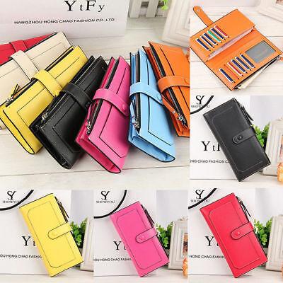 Purse Wallet (Fashion Lady Women's Wallet Leather Handbag Clutch Card Holder Cases Long)