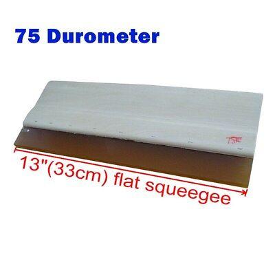 Silk Screen Printing Wood Squeegee Ink Scraper 75 Durometer-13 In. High Quality