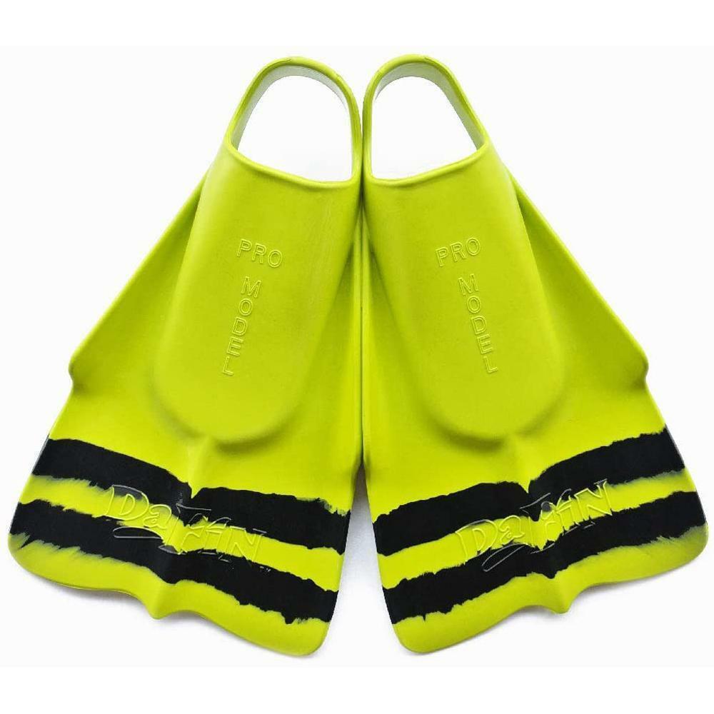 DAFIN Swimfin Slyde - Yellow Black