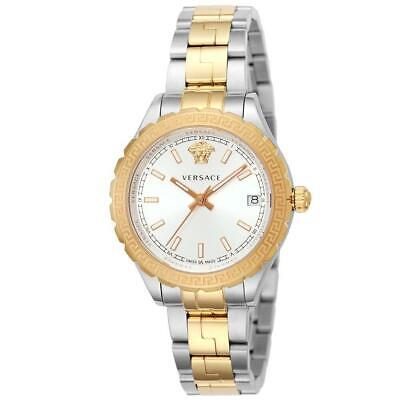 Versace V12030015 Versace 35MM Women's Two-Tone Stainless Steel Watch