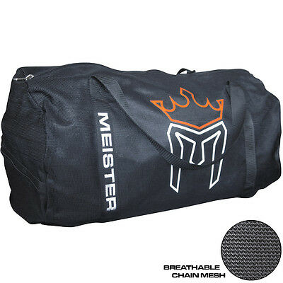 MEISTER X-LARGE CHAIN MESH DUFFEL GYM BAG - MMA Sports CrossFit Equipment Gear