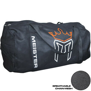 MEISTER-X-LARGE-CHAIN-MESH-DUFFEL-GYM-BAG-MMA-Sports-CrossFit-Equipment-Gear